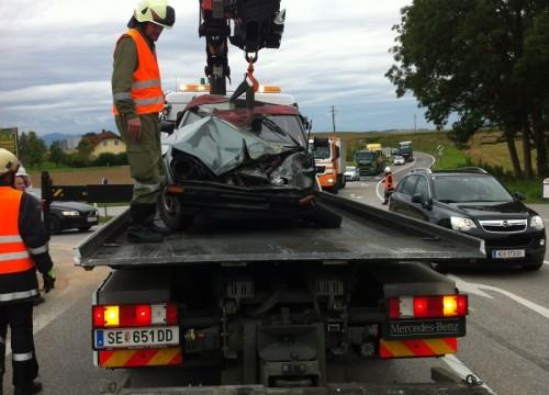 Verkehrsunfall - 11.08.2014