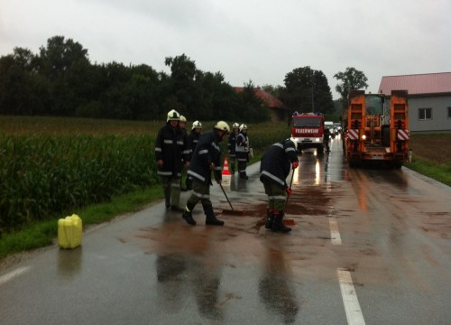 Verkehrsunfall - 13.08.2014