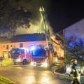 Bauernhausbrand - 10.10.2016
