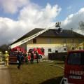 Dachstuhlbrand - 06.03.2015